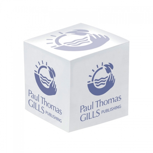 Promotional BIC Value 3x3x3 Non-Adhesive Note Cube